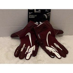 NEW Nike Vapor Jet Football Gloves Mens 3XL Red